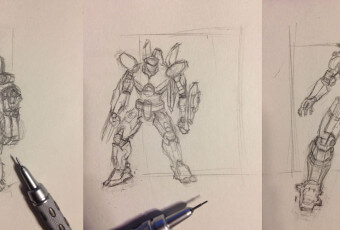 Tiny Jaeger Sketches