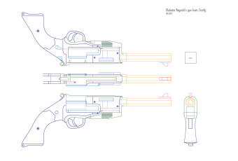 Blueprint for Mal's Gun