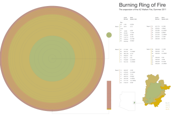 Burning Ring of Fire: AZ Wallow Fire