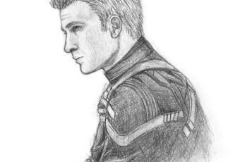 steve rogers sketch